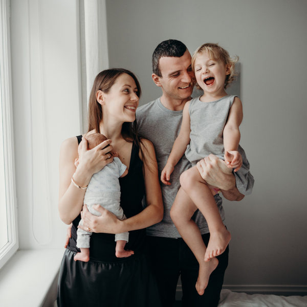 <em> Relaxed Family Photography</em> Private Residence // Laura & Juris & kids